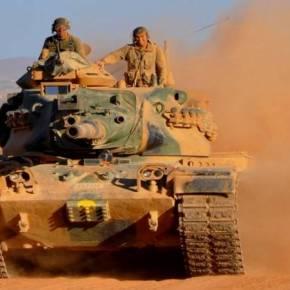 Οι τουρκικές δυνάμεις προέλασαν 30 χλμ. μέσα στο συριακό έδαφος με άρματα μάχης & ΤΟΜΑ(vid)
