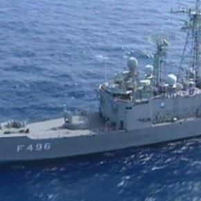 Τουρκικά πολεμικά πλοία σε ελληνικά χωρικάύδατα