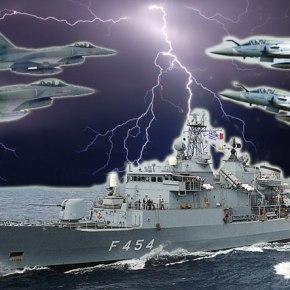 """""""Καταιγίδα"""" στο Αιγαίο – 70 Πολεμικά πλοία συμμετέχουν στηνάσκηση"""