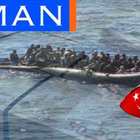 Ζaman: 7,5 εκατ. μέσα σε τέσσερις μήνες ο τζίρος της προώθησης των λαθρομεταναστών στηνΕλλάδα