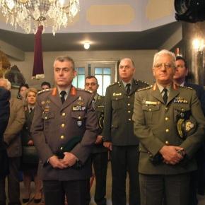 Στο Χρυσοβίτσι βρέθηκε και τιμήθηκε ο Διοικητής ΑΣΔΕΝ ΑντιστράτηγοςΗλιόπουλος