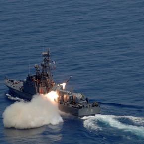 Πεδίο Βολής Κρήτης: Μπαράζ βολών του ΠολεμικούΝαυτικού