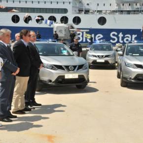 65 νέα περιπολικά οχήματα για τοΛιμενικό