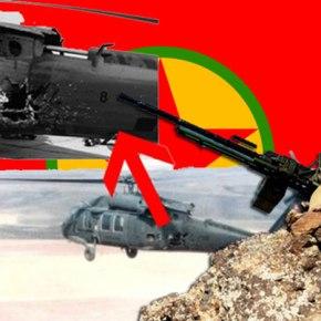 Αναγκαστική προσγείωση τουρκικού Blackhawk από πυρά Κούρδωνανταρτών