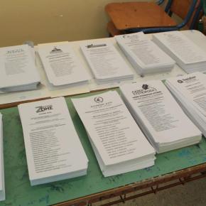 Οι δηλώσεις των υποψηφίων κατά την άσκηση του εκλογικού τουςδικαιώματος