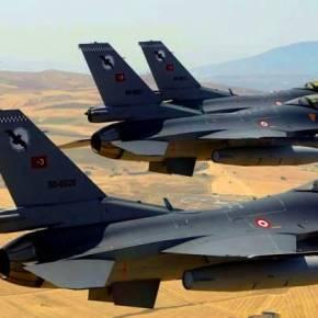 ΕΚΤΑΚΤΟ: Τέσσερα τουρκικά F-16 πάνω από ελληνικό έδαφος – Δύο F-16 της ΠΑ «πάνωτους»