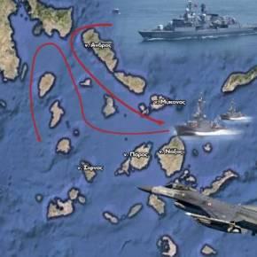 Εθνική ταπείνωση σε απόσταση μερικών μιλίων από τις ακτές της Αττικής – Μάθημα προςόλους…