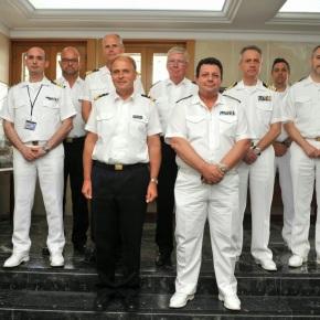 Επίσκεψη Επιτελών του Γερμανικού Πολεμικού Ναυτικού στοΓΕΝ
