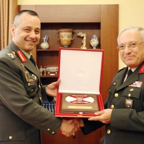 Επίσκεψη του Τούρκου Διοικητή 1ης Στρατιάς στοΓΕΣ