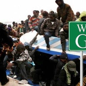 72 λαθρομετανάστες αποβιβάστηκαν ανενόχλητοι στην …Κάρυστο!