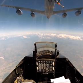 THRACIAN STAR: Ελληνικά F-16 σε εναέριο ανεφοδιασμό –ΒΙΝΤΕΟ