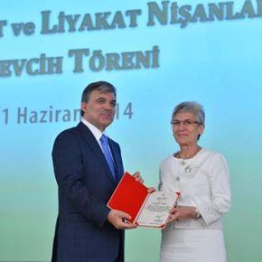 Ο Τούρκος πρόεδρος παρασημοφόρησε Ελληνίδαιστορικό