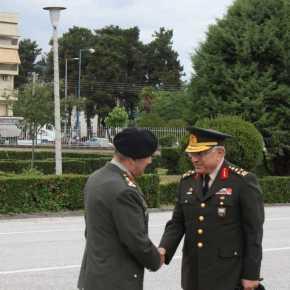 Ο Τούρκος Στρατάρχης με τιμές στηΛάρισα!