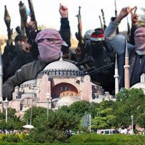 Με κατάληψη της Κωνσταντινούπολης απειλούν οι Ισλαμοφασίστες τηςISIL!