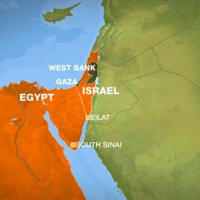 Αιγυπτιακός στρατός στα σύνορα με τοΙσραήλ…