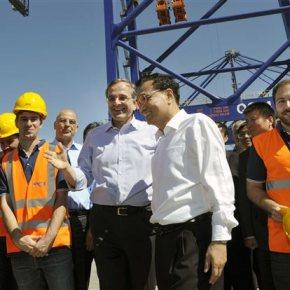 Λι Κετσιάνγκ: «Απτά τα αποτελέσματα της συνεργασίας Ελλάδας – Κίνας»Ολοκληρώθηκε η επίσκεψη του κινέζου πρωθυπουργού στηνCosco
