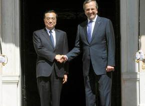 Στην Αθήνα ο πρωθυπουργός της Κίνας  ΥΠΟΓΡΑΦΗ ΣΥΜΦΩΝΙΩΝ ΥΨΟΥΣ 6,5 ΔΙΣ. ΕΥΡΩ(Φωτογραφίες)