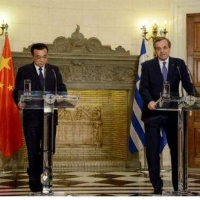 Η Κίνα «θα παραμείνει μακροπρόθεσμος επενδυτής» για τα ελληνικά ομόλογα Υπογράφεται πλήθος συμφωνιών μεταξύ των δύο χωρών – Συγχαρητήρια για την επιστροφή της Ελλάδας στις διεθνείς αγορές με την έκδοση ομολόγων έδωσε ο κινέζοςπρωθυπουργός