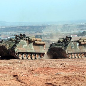 ΓΕΣ: Άγιο είχαν οι στρατιώτες στο M113 του 558 Μ/ΚΤΠΖ