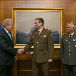 Συνάντηση ΥΕΘΑ Δημήτρη Αβραμόπουλου με τον Αρχηγό Ενόπλων Δυνάμεων τουΛουξεμβούργου