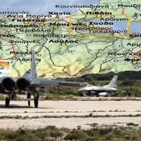 Μαχητικά F-16 στην Κρήτη στέλνουν οιαμερικανοί