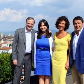 Ιταλία: Γεύμα του Αντ. Σαμαρά με τον Ιταλό ομόλογό του Μ.Ρέντζι