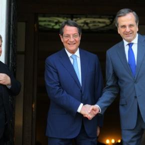 Αντ. Σαμαράς στον Ν. Αναστασιάδη: Είμαστε μαζί με την Κύπρο για επίλυση τουΚυπριακού