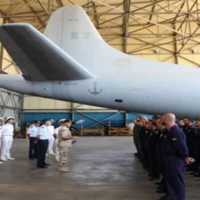 Ο Α/ΓΕΝ Αντιναύαρχος Ε. Αποστολάκης στην 353 ΜΝΑΣ – Τα P-3B πάλιεπιχειρησιακά
