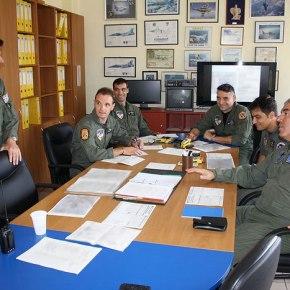O Αρχηγός του ΑΤΑ πέταξε με τους Χειριστές των 117 & 116ΠΜ…