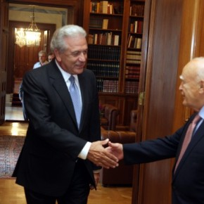 Για «αναβάθμιση του συμφώνου Παπούλια-Γιλμάζ» μίλησε οΑβραμόπουλος