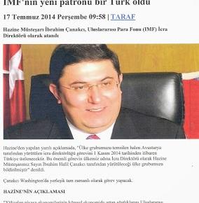 Τούρκος το νέο «αφεντικό» τουΔΝΤ