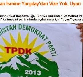 Τουρκία: «Αντισυνταγματικό» το νέο κόμμα λόγω της λέξης'Κουρδιστάν'