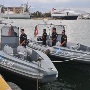 Λιμενικό: Παραλαβή των 10 ταχύπλοων φουσκωτών σκαφών(φωτο)