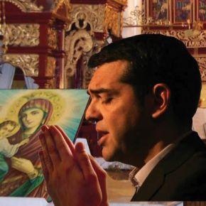 O Τσίπρας ακόμη πιο βαθιά στηΕκκλησία