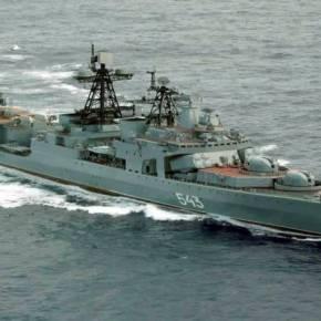 Το πρώτο πολεμικό πλοίο του νέου ρωσικού Στόλου Μεσογείου έφτασε στην Κύπρο ΜΕ ΕΠΙΔΕΙΞΗ ΙΣΧΥΟΣ ΑΠΑΝΤΑ Η ΜΟΣΧΑ ΣΤΙΣ ΔΥΤΙΚΕΣΚΥΡΩΣΕΙΣ