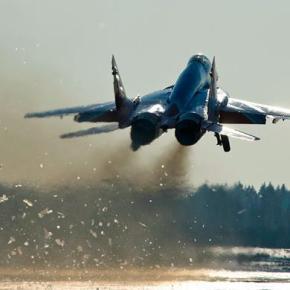 Η Ρωσία διεξάγει μια πρωτοφανή σε μέγεθος αεροπορικήάσκηση