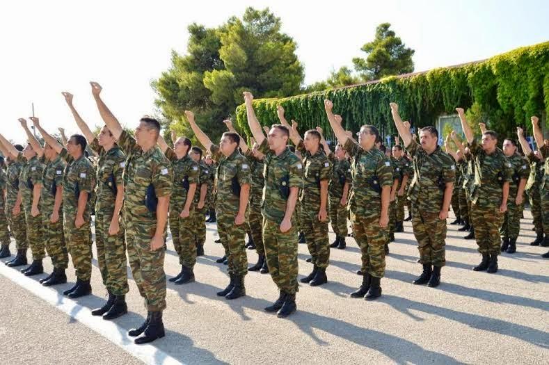 Αποτέλεσμα εικόνας για ορκομωσια στρατου