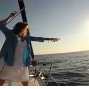 Αγιασμα από την Κατεχόμενη Κύπρο ραντίστηκε στα νερά τουΑιγαίου
