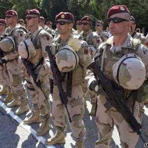 Αλβανικός Τύπος ― Αλβανοί στρατιώτες πολεμούν απο κοινού με τον ουκρανικό στρατό στο αεροδρόμιο τουΝτονέτσκ