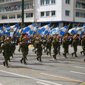 Τα Σκόπια πιέζουν NATO και ΕΕ, για τα συνθήματα των Ελλήνωνστρατιωτών