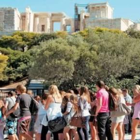 Αύξηση των τουριστών απόΑυστραλία