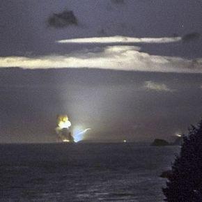 Μυστικό υπέρ-όπλο εκρήγνυται σε δοκιμή πάνω από τηνΑλάσκα
