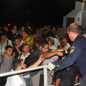 «Έξοδος από τη κόλαση της Λιβύης» – Οι φωτογραφίες της επιχείρησης τουΠΝ