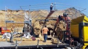 Αρχαία Αμφίπολη: Νέα ευρήματα-Βοτσαλωτό δάπεδο, με ορθογώνια και τετράγωνα σχήματα και ασπρόμαυρους ρόμβους–
