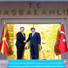 Η Τουρκία πάτρωνας τωνΣκοπίων!