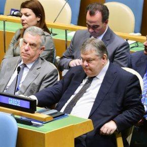 Βενιζέλος καλεί Σκόπια: Η Αθήνα έχει κάνει σημαντικά βήματα για τη λύση Στη Γενική Συνέλευση των Ηνωμένων Εθνών θα μιλήσει ο υπουργόςΕξωτερικών