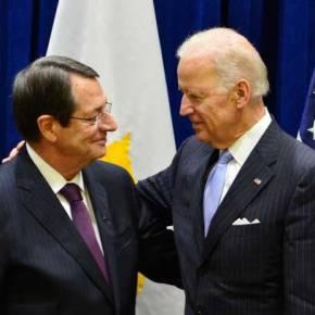 Συνάντηση Αναστασιάδη-Μπάιντεν: Για «τουρκική εισβολή στην Κύπρο» έκανε λόγο ο Αμερικανόςαντιπρόεδρος