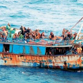 Αύξηση 835% στις ροές μεταναστών στοΑιγαίο
