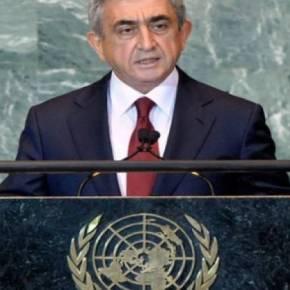 Πρόεδρος της Αρμενίας στον ΟΗΕ: «Στο διάβολο οι συμφωνίες με την Τουρκία η πατρίδα είναιιερή»
