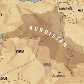 Ο σιωνιστής ιστορικός Daniel Pipes σηκώνει χάρτη του μεγάλου Κουρδιστάν με διαμελισμένη τηνΤουρκία!